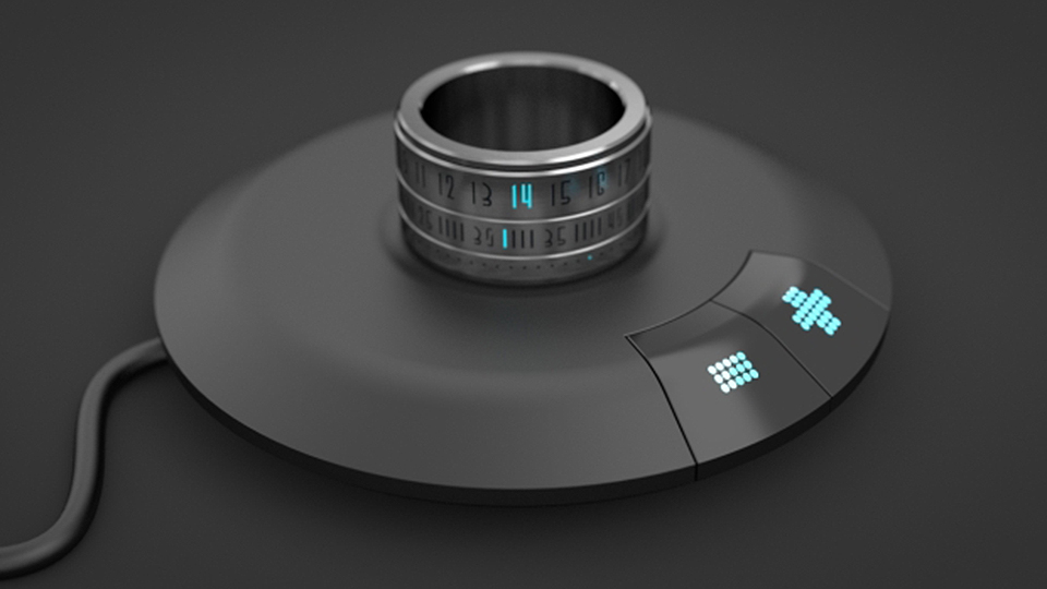 The Clock Ring Charger