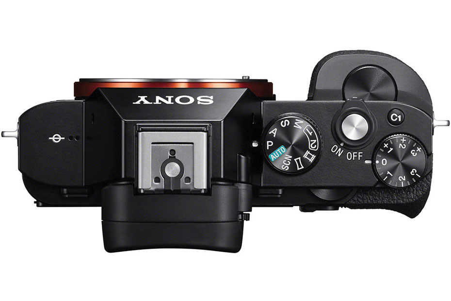 Sony-a7-Series-Full-Frame-Mirrorless-Camera-top