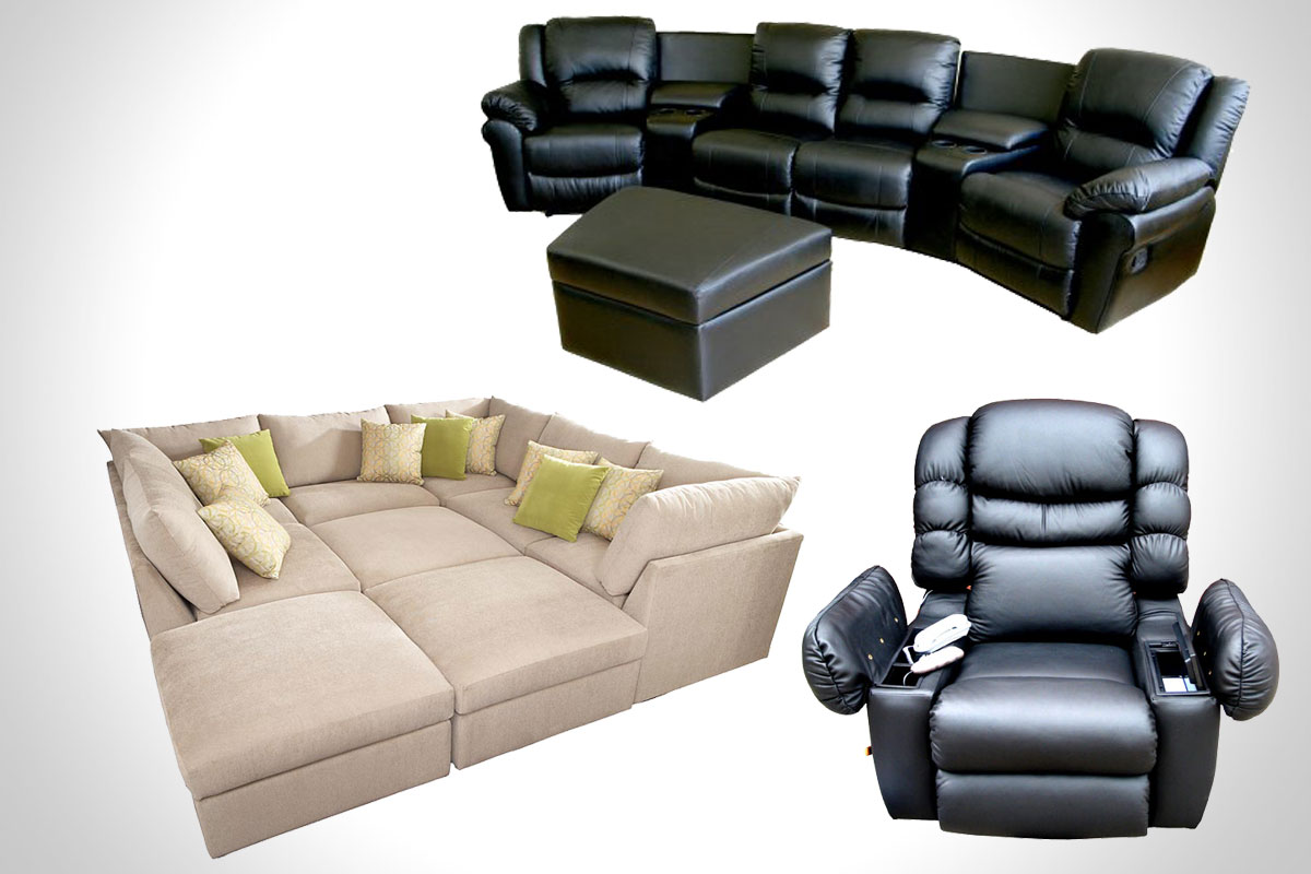 home-theater-seating affordable home theater