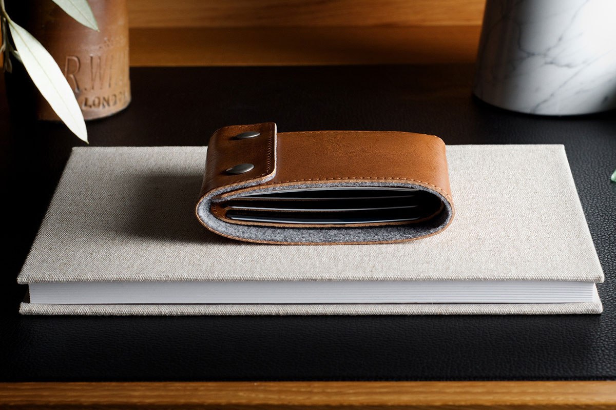 Best Mens Wallets | Snap Wallet by Hard Graft