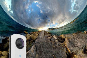 Ricoh Theta | The Best Men's Stocking Stuffers
