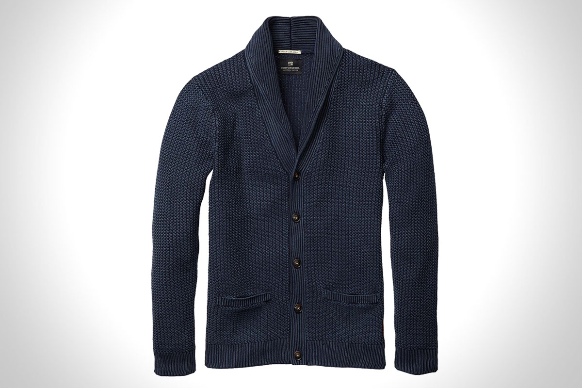 Cotton Cardigan By Scotch & Soda