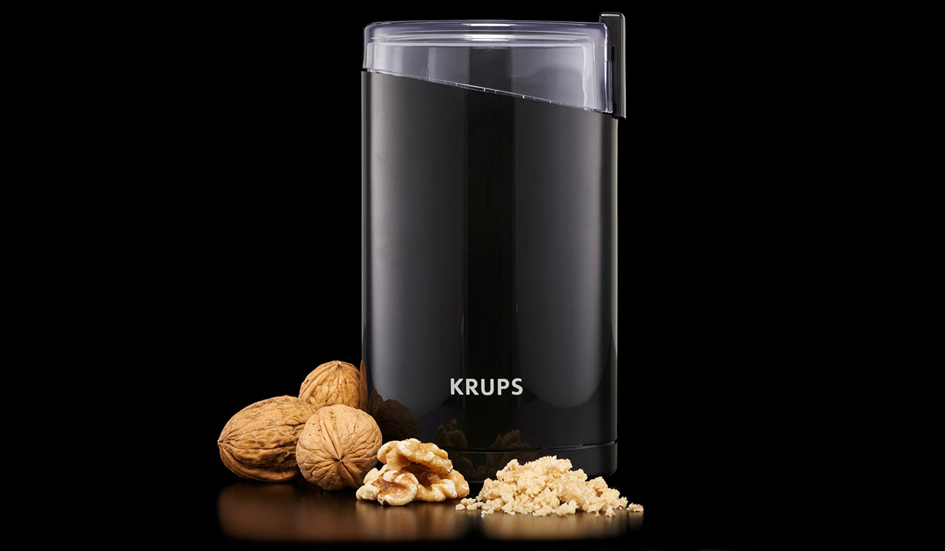 KRUPS F203 Electric Spice and Coffee Grinder | Pour Over Coffee grinder | the best way to make coffee