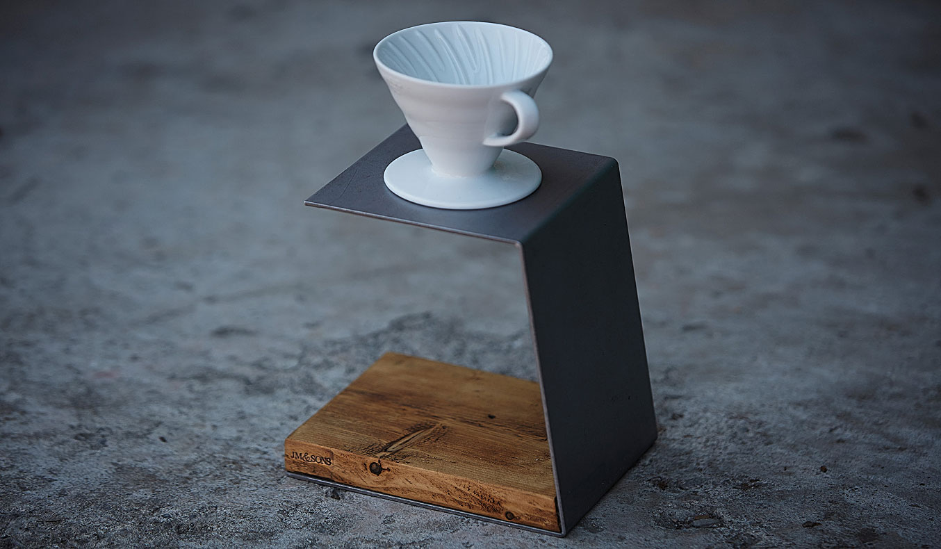 JM and Sons Pour Over Coffee Stand | coffee stands | Pour Over Coffee: the best way to make coffee