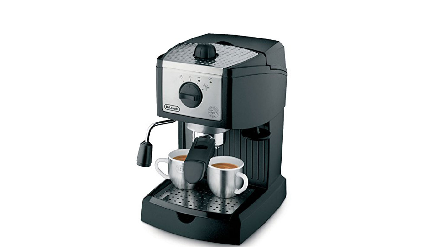 DeLonghi EC155 Espresso/Cappuccino Maker | Best Espresso Machines