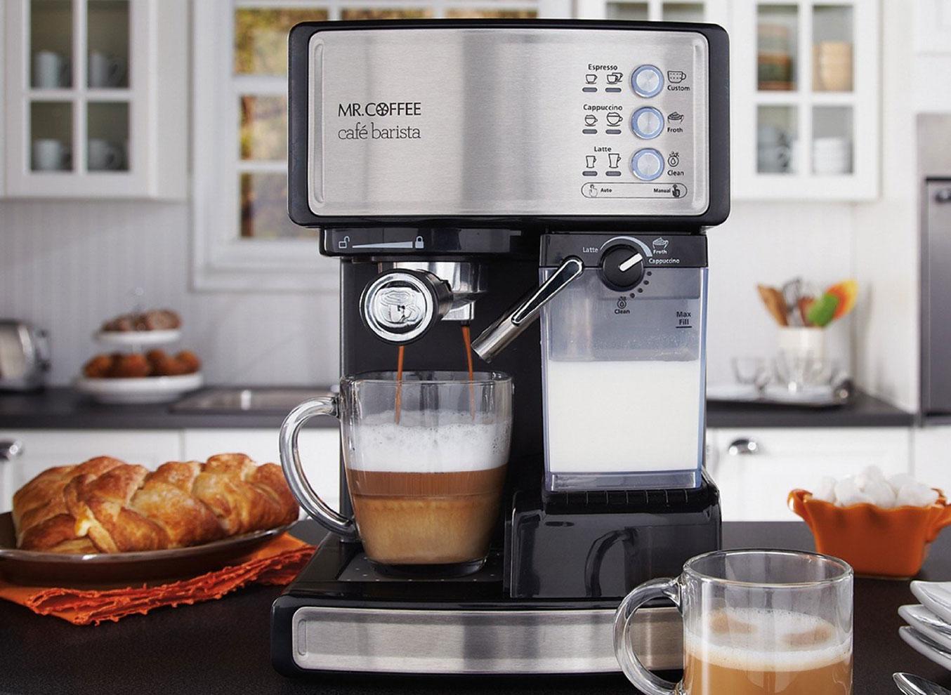 Mr. Coffee Cafe Barista Espresso Maker | Best Espresso Machines
