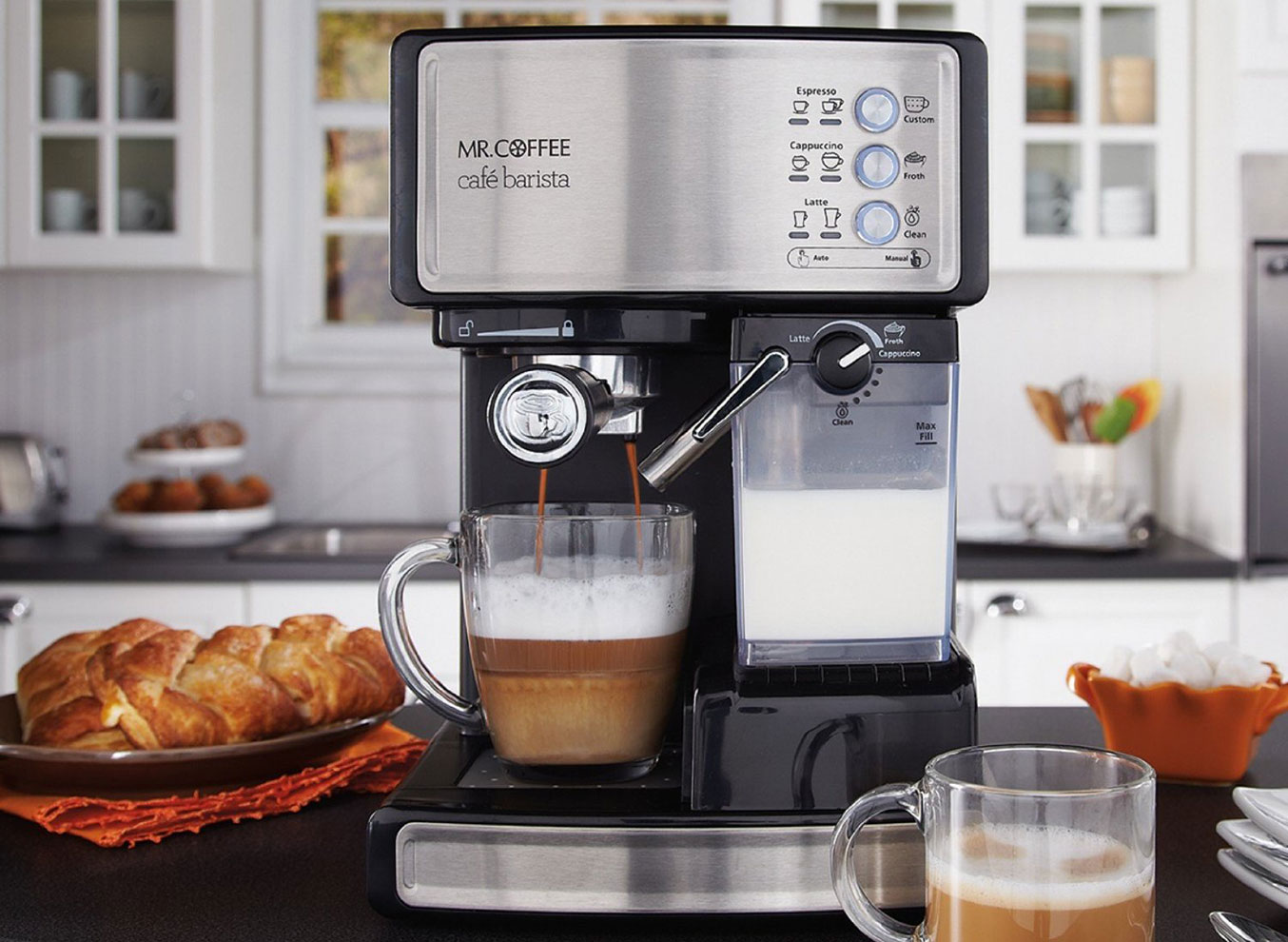 Mr. Coffee Cafe Barista Espresso Maker | Best Espresso Machines
