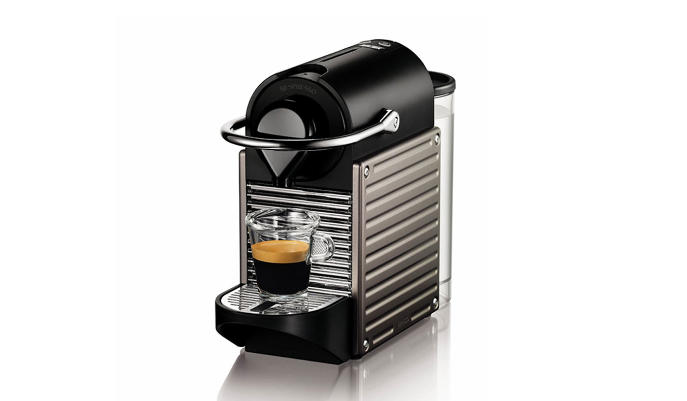 Nespresso Pixie Espresso Maker-Electric Titan | Best Espresso Machines