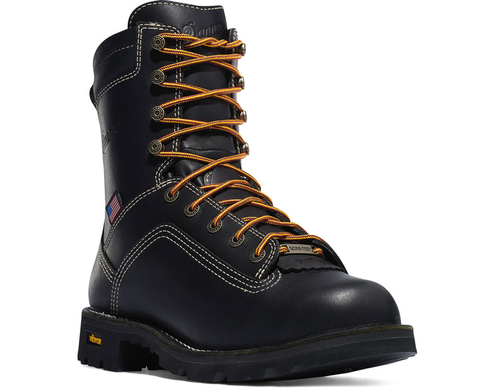 "DANNER MEN'S QUARRY GTX 8"" AT MENS WORK BOOT | Best Mens Work Boots"