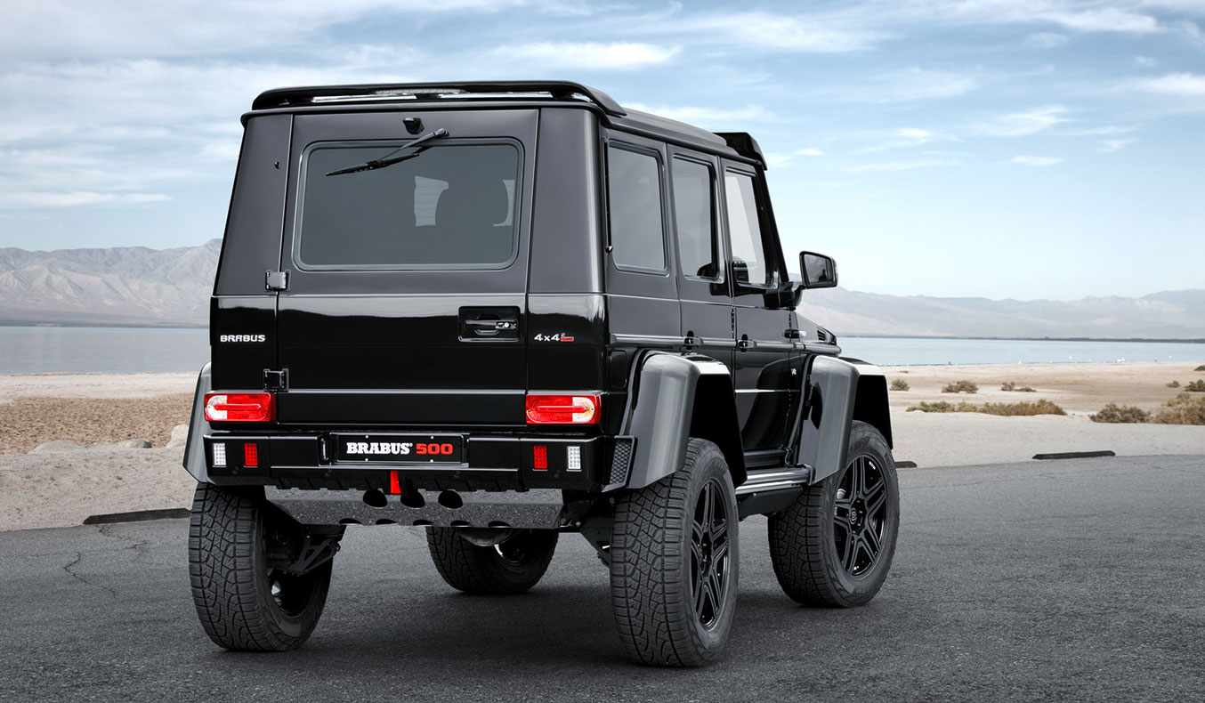 BRABUS MERCEDES G500 4X4 SQUARED | Muted