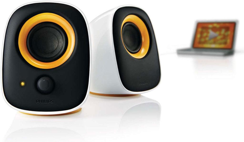 Philips SPA2210 Desktop Speakers   The Best Desktop Speakers