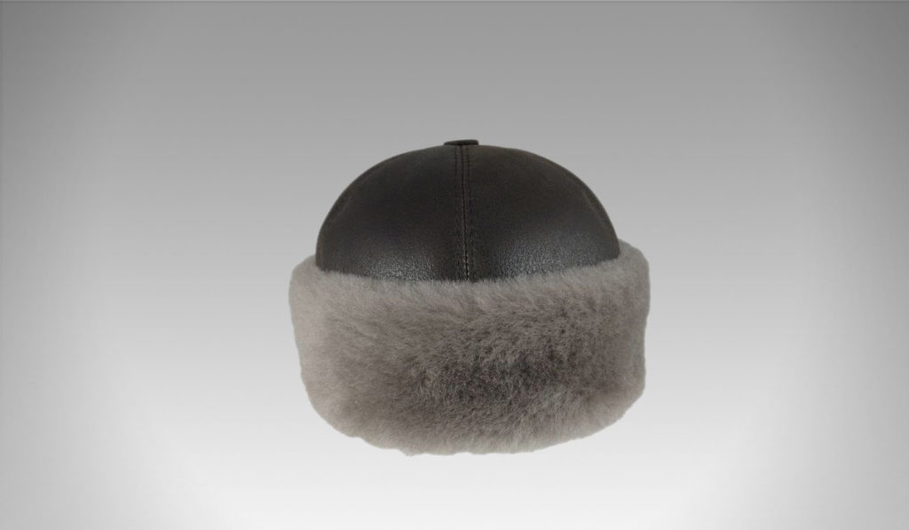 Zavelio Men's Shearling Sheepskin Winter Fur Beanie Hat | Best Men's Winter Hats