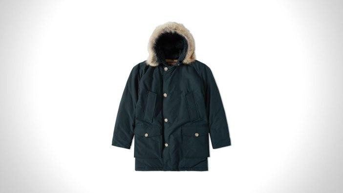 Woolrich Arctic Parka DF - Dark Navy   best mens winter coats