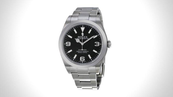 Rolex Explorer Mens Field Watch   the best mens field watch