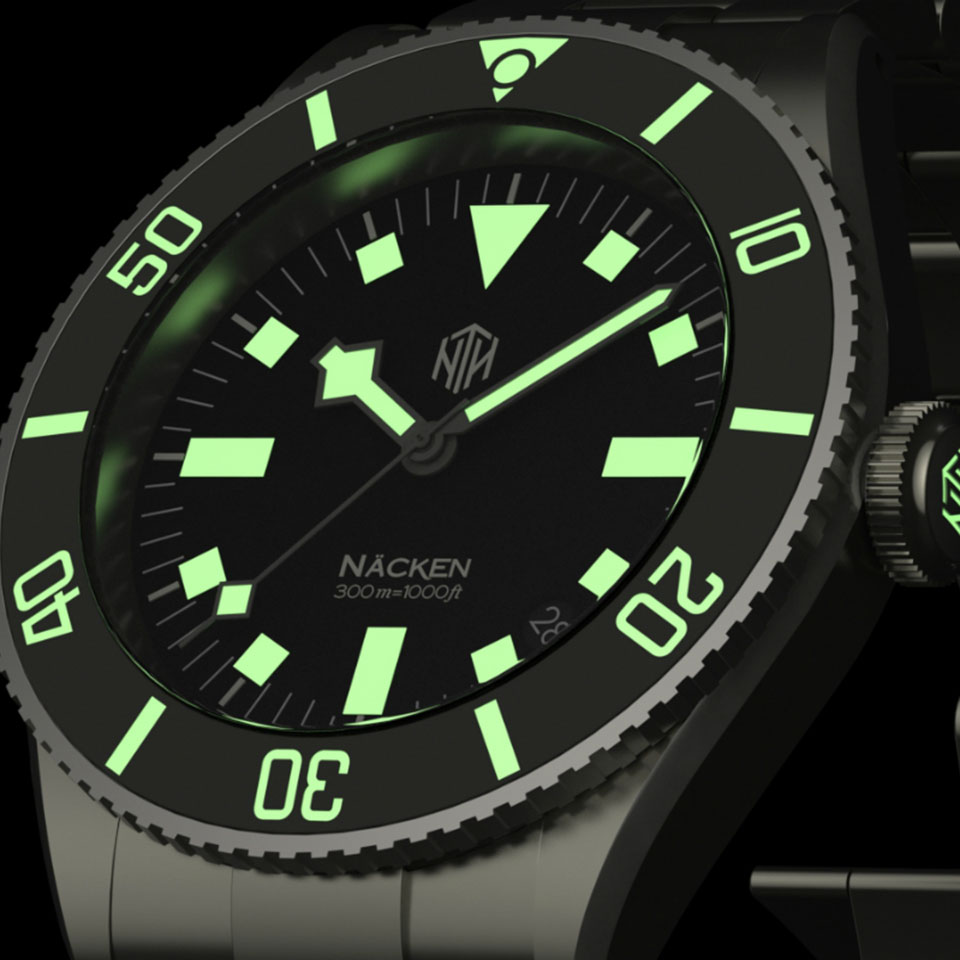 NTH Amphion |Affordable Dive Watches