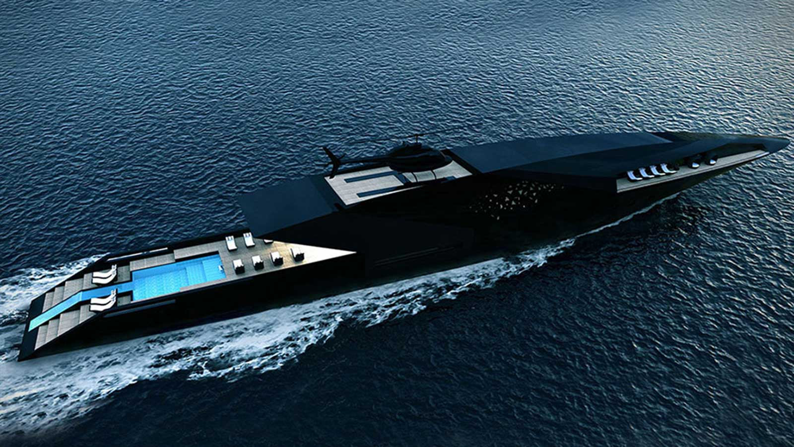 BLACK SWAN SUPERYACHT