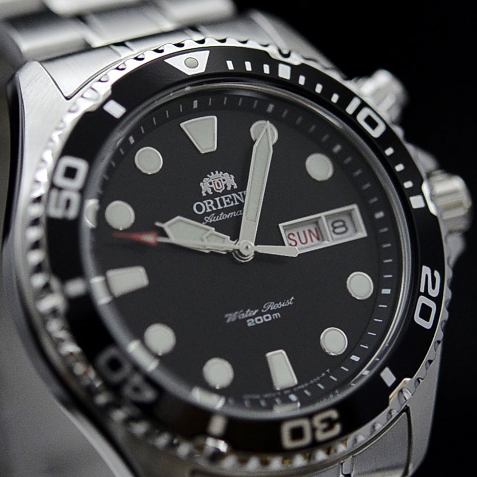 Orient Ray II |Best Dive Watches for Men