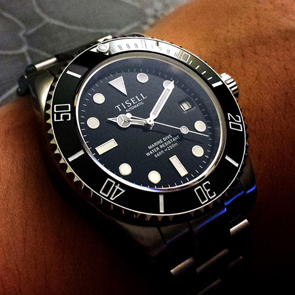 Tisell Sub  Best Dive Watches for Men