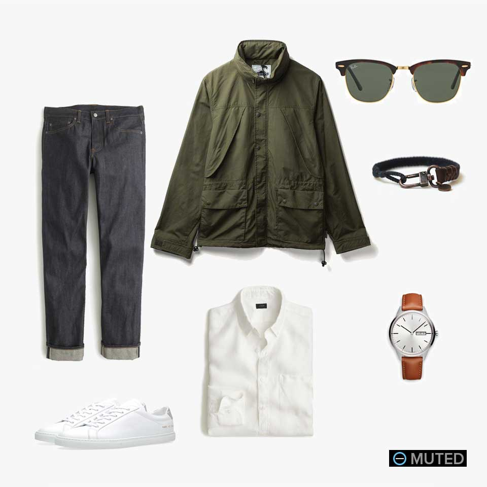 muted mens outfit ideas #22