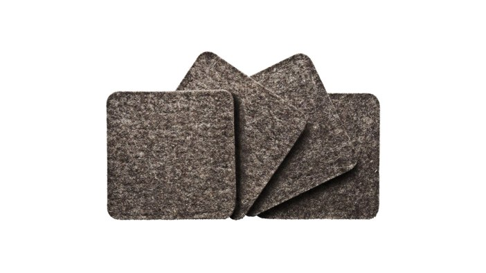 Merino Wool Coasters | gifts for men | gifts for the mixologist