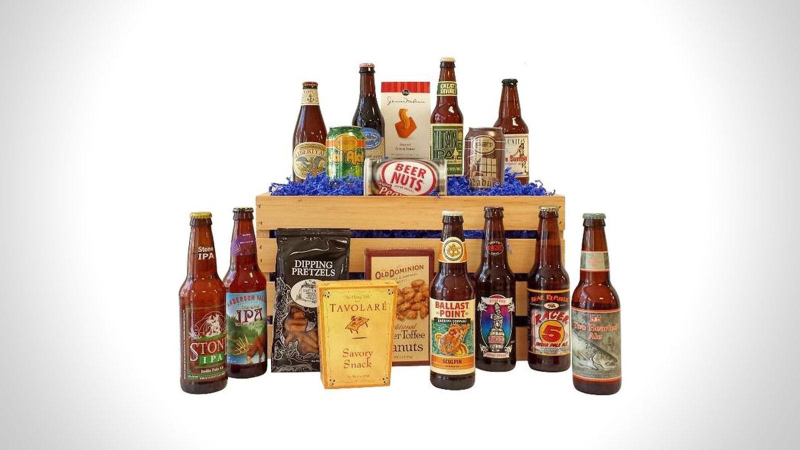 Give Them Beer Gift Baskets | Gifts For Men | Gift Baskets For Men