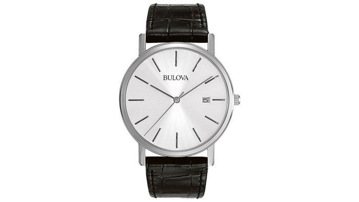 Bulova Men's 96B104 Stainless Steel Minimalist Watch | best minimalist watches for men