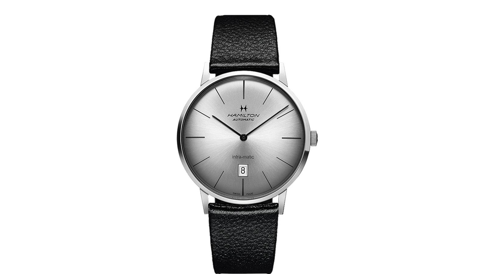 Hamilton Intra-Matic Minimalist Watch | best minimalist watches for men