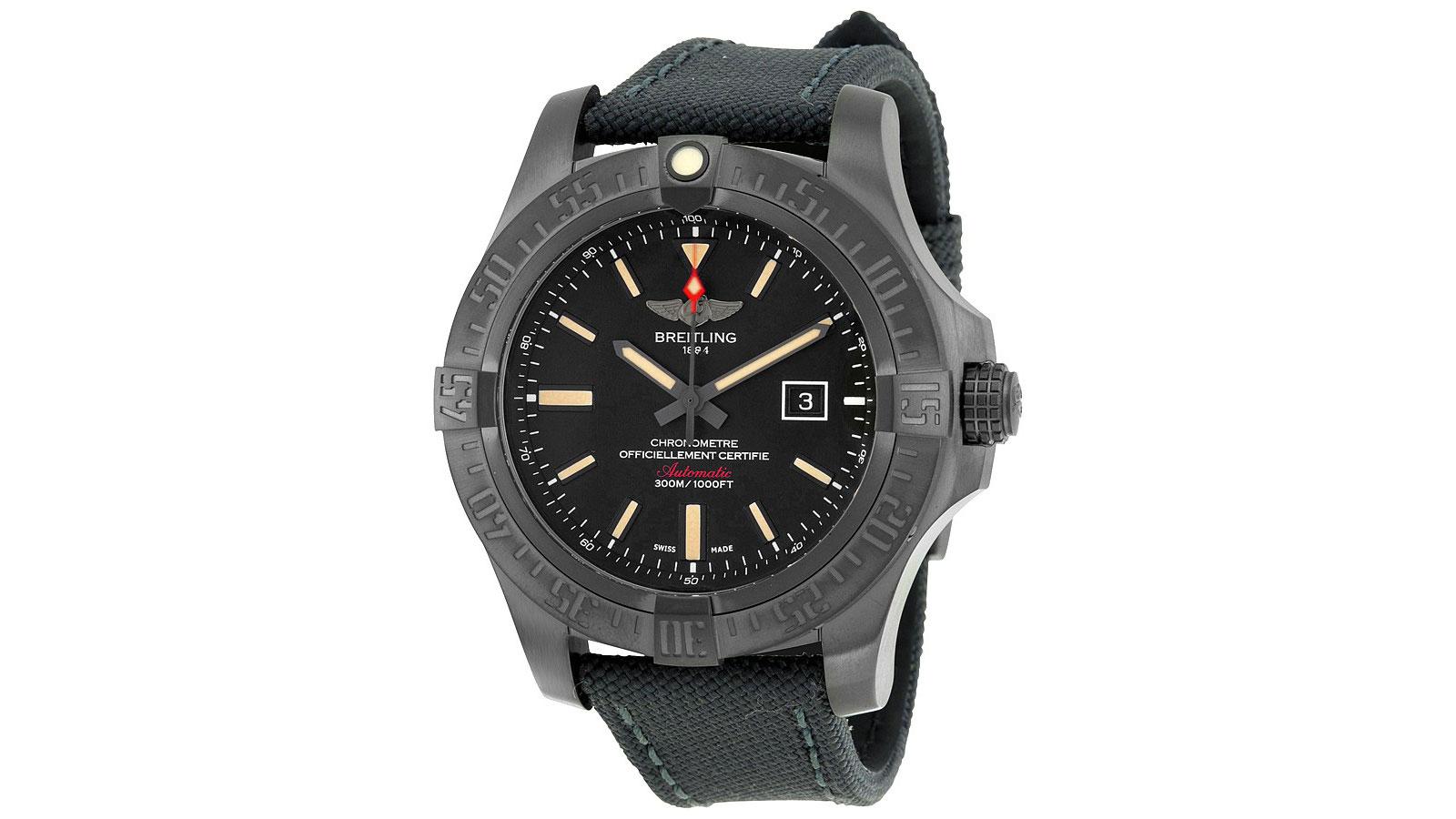 Breitling Blackbird Pilot Watch   the best pilot watches for men