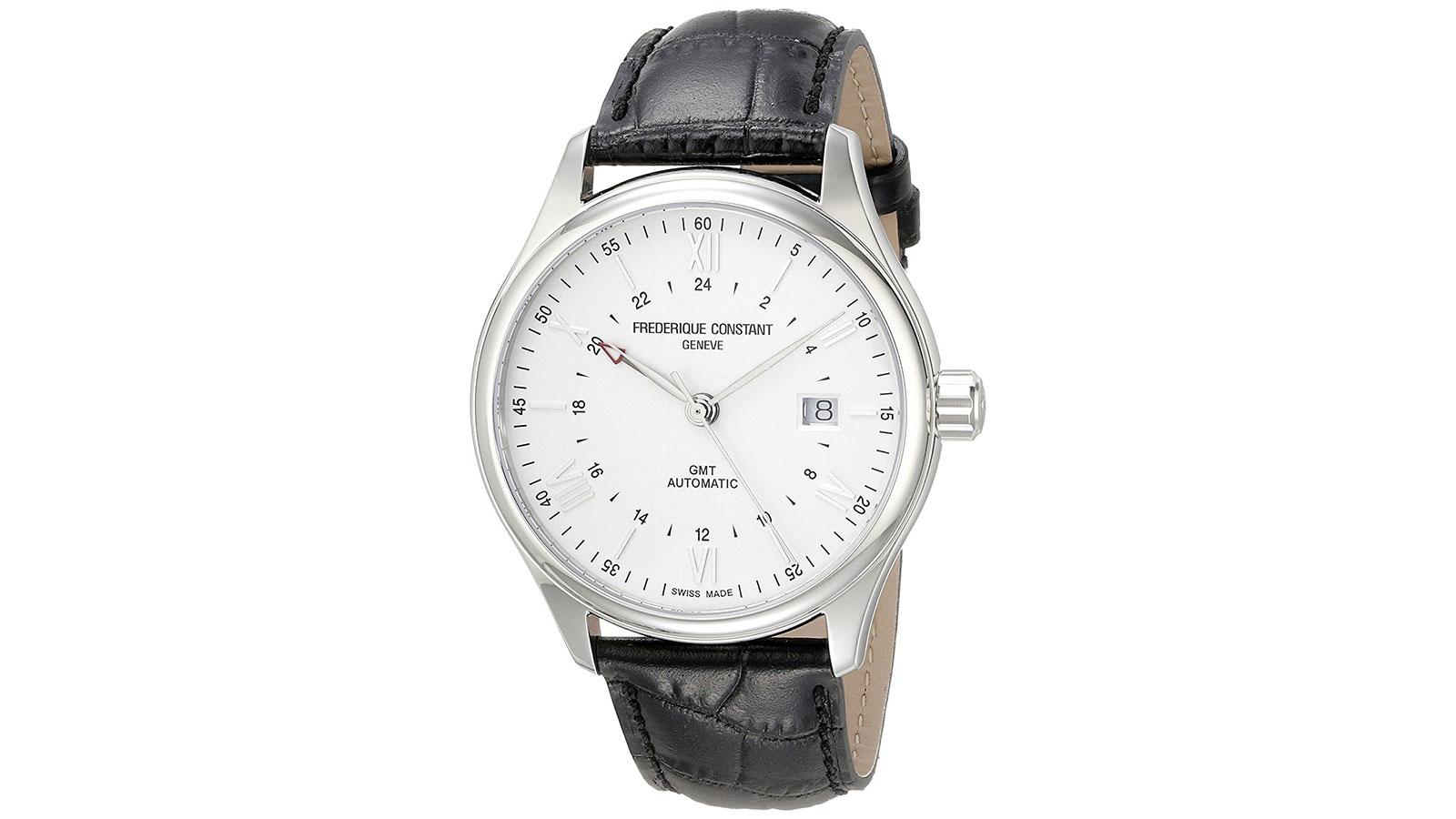 Frederique Constant Classics GMT Automatic Men's Watch | best men's watches under $1000