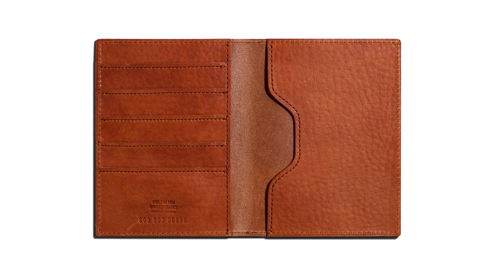 Shinola Passport Wallet   best passport holders for men