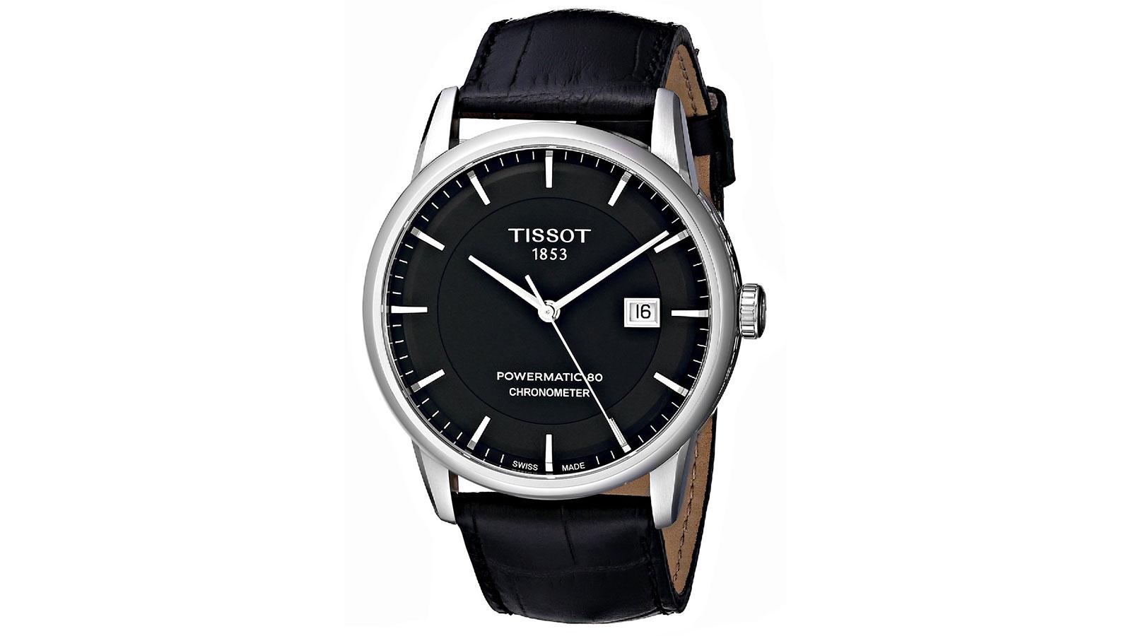 Tissot Luxury Automatic Black Dial Men's Watch | best men's watches under $1000