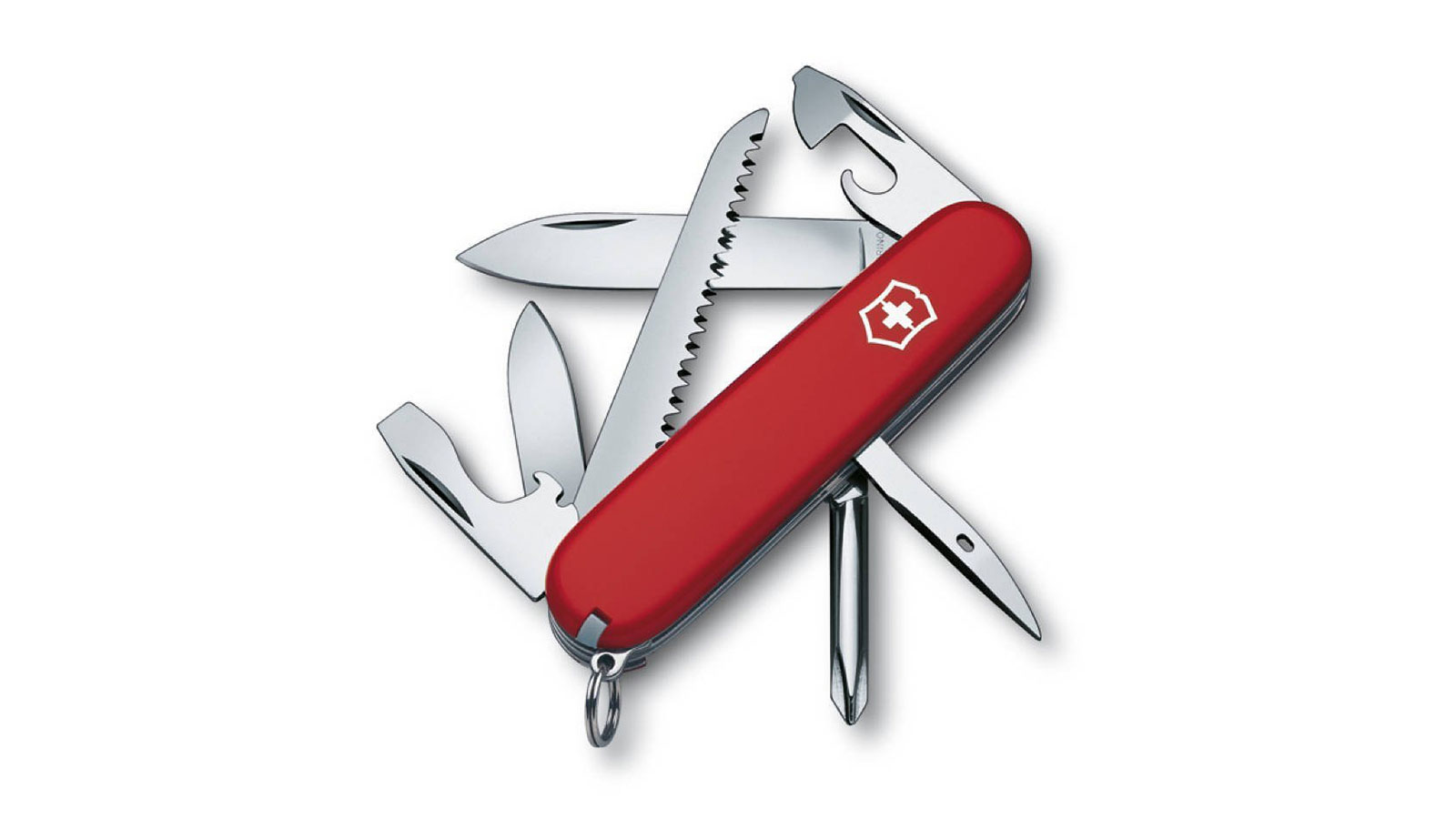 Victorinox Hiker Swiss Army Knife | the best swiss army knives