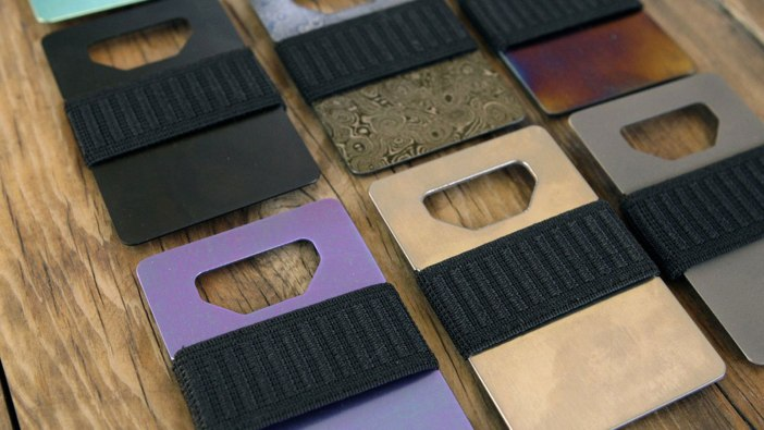 Spine Metal Wallet   best metal wallet