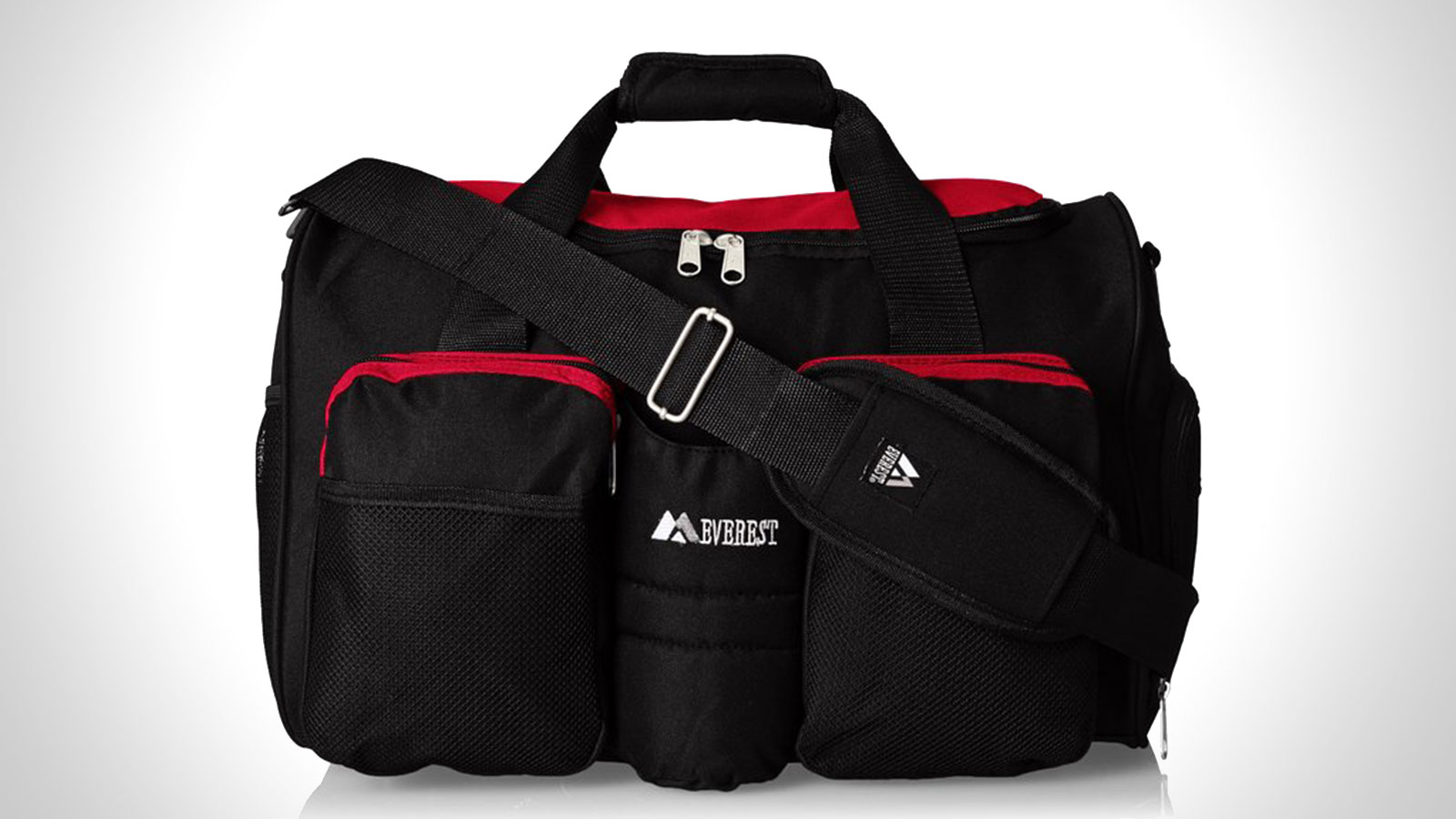 Everest Gym Bag with Wet Pocket   best mens gym duffle bag