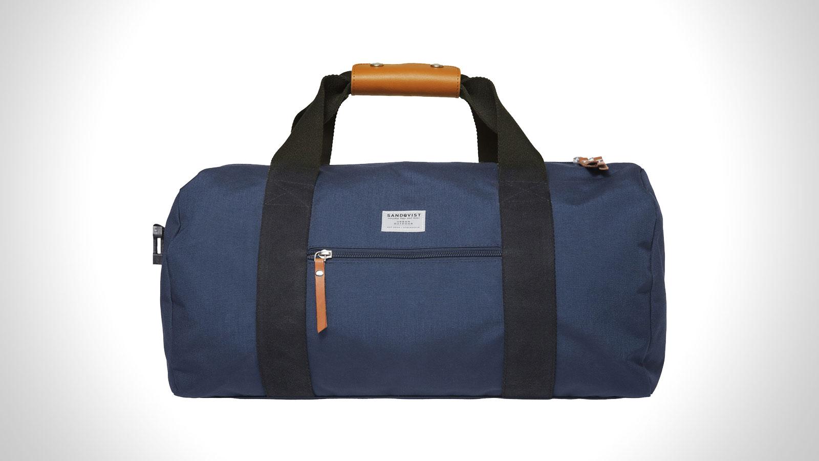 Sandqvist Floyd - Blue Gym Duffel Bag | best mens gym duffle bag