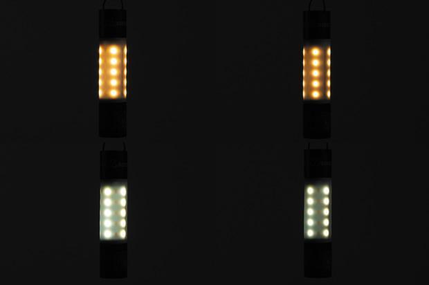 LED明るさ比較