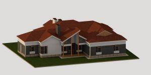 4 Bedroom Bungalow House Plan in Kenya (Certified Engineer Designs)