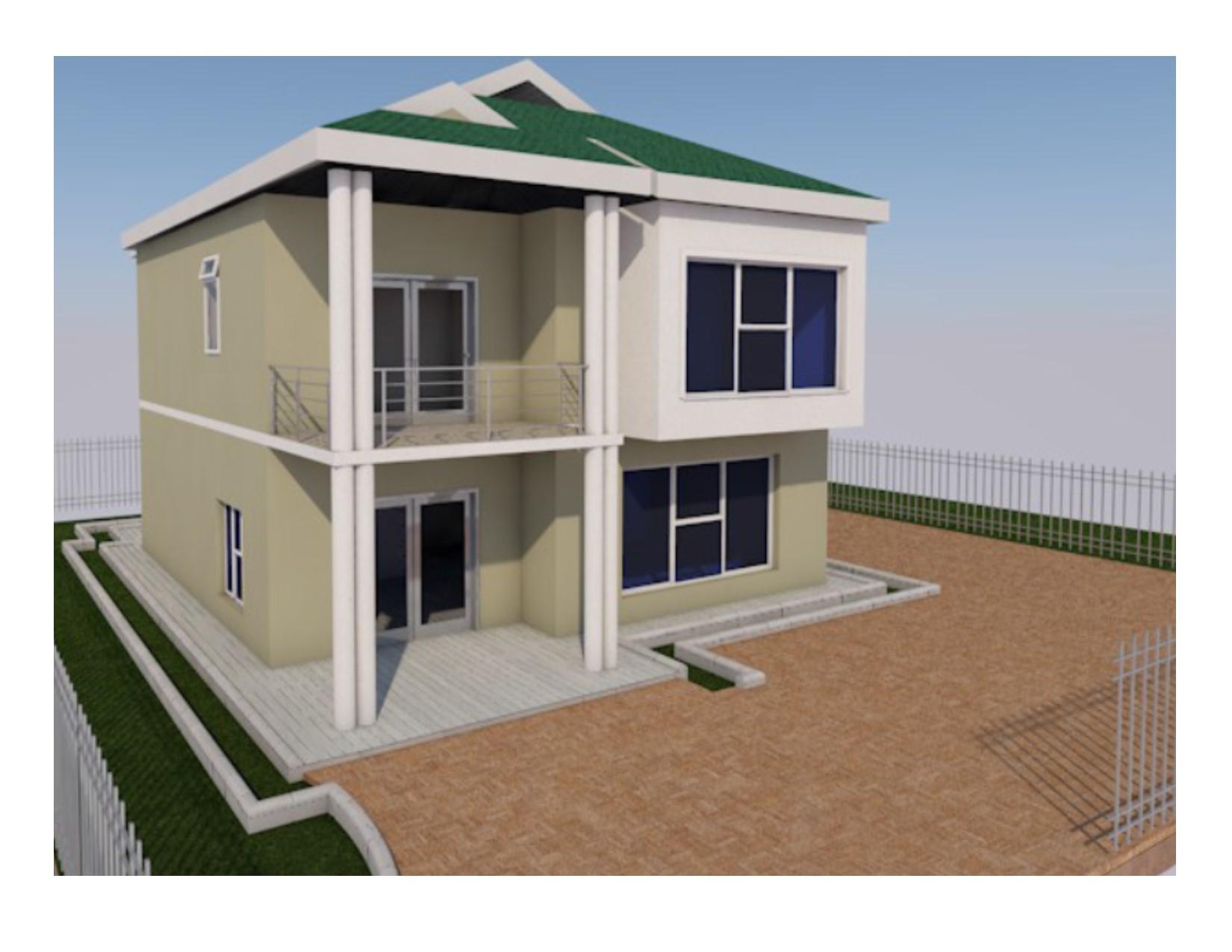 Maisonette House Plan In Kenya 4 Bedroom Muthurwa Com