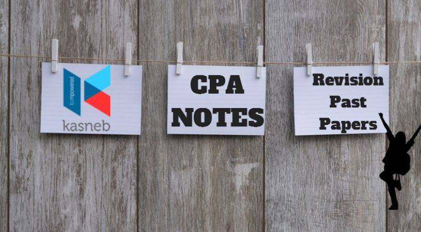 KASNEB CPA note past papers