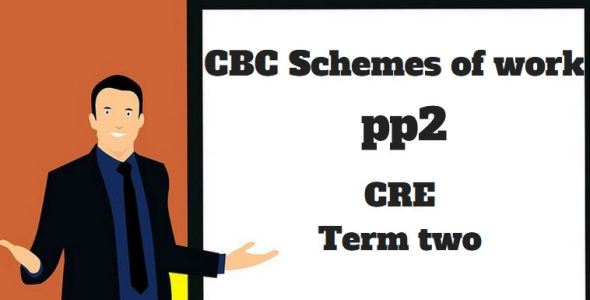 CRE pp2 term two, cbc schemes of work