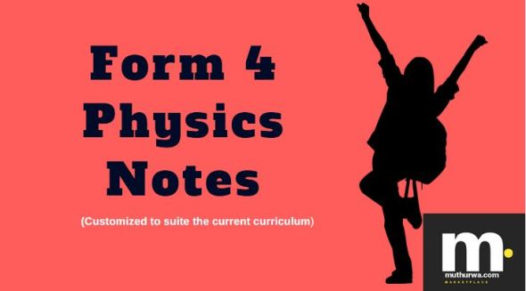 Form four physics notes