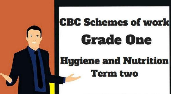 Hygiene and nutrition, grade one, cbc schemes of work