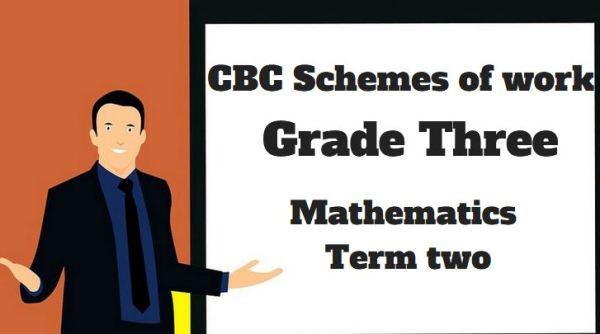 Mathematics term 2, grade three, cbc schemes of work