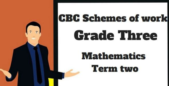 Mathematics term 2, grade three, cbc schemes of work