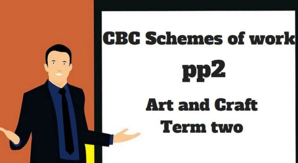 art and craft pp2 term two, cbc schemes of work