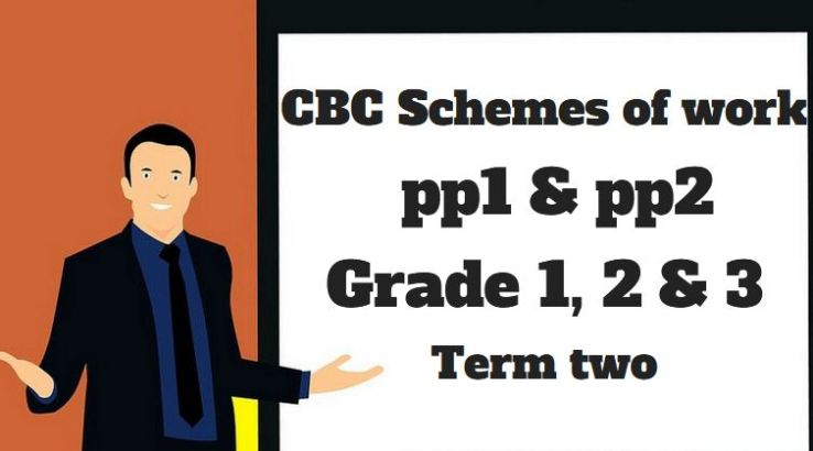 CBC schemes of work grade 1, 2, 3 and pp1, pp1