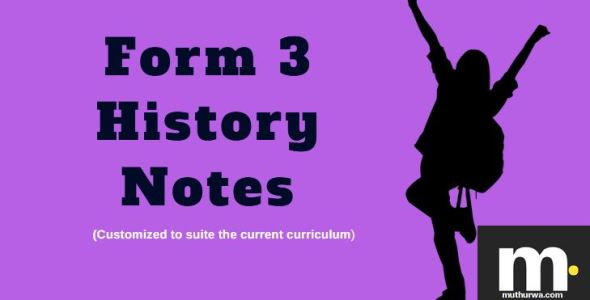 form three history notes for revisions