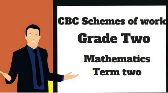 mathematics term 2, grade two, cbc schemes of work new