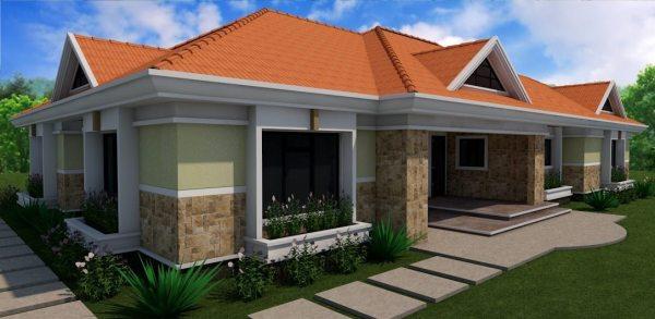 4 bedroom residential house design