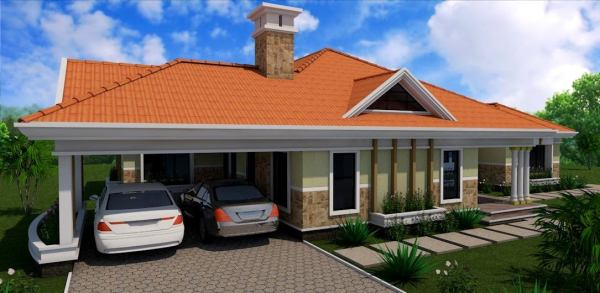 4 bedroom house designs in Kenya